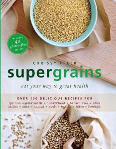 Chrissy Freer Byron Bay nutritionist Supergrains