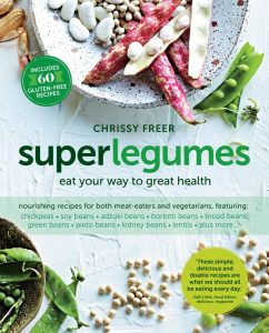 Chrissy Freer Byron Bay nutritionist Superlegumes book