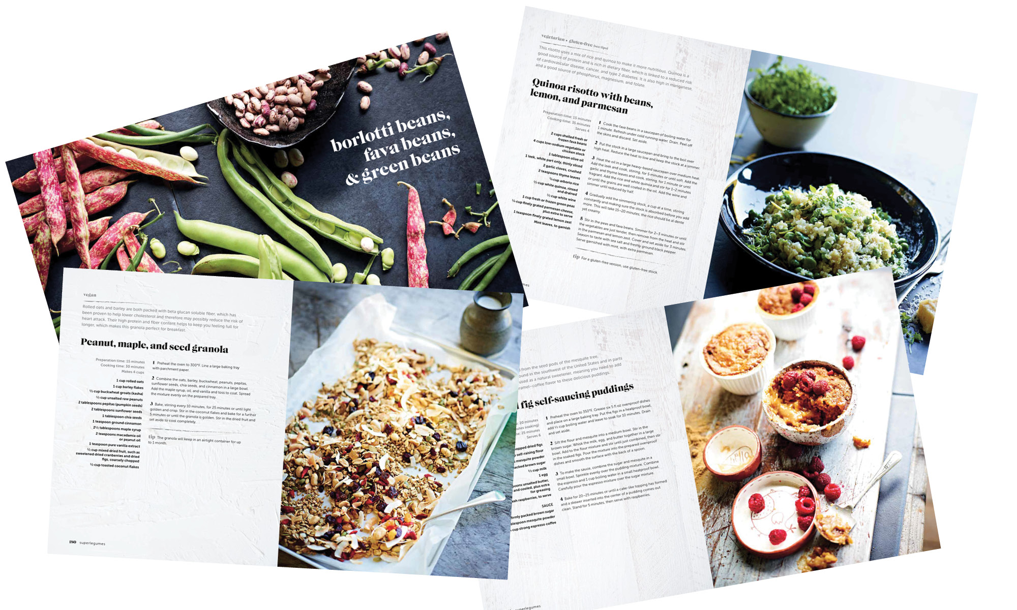 Superlegumes cookbook by Chrissy Freer