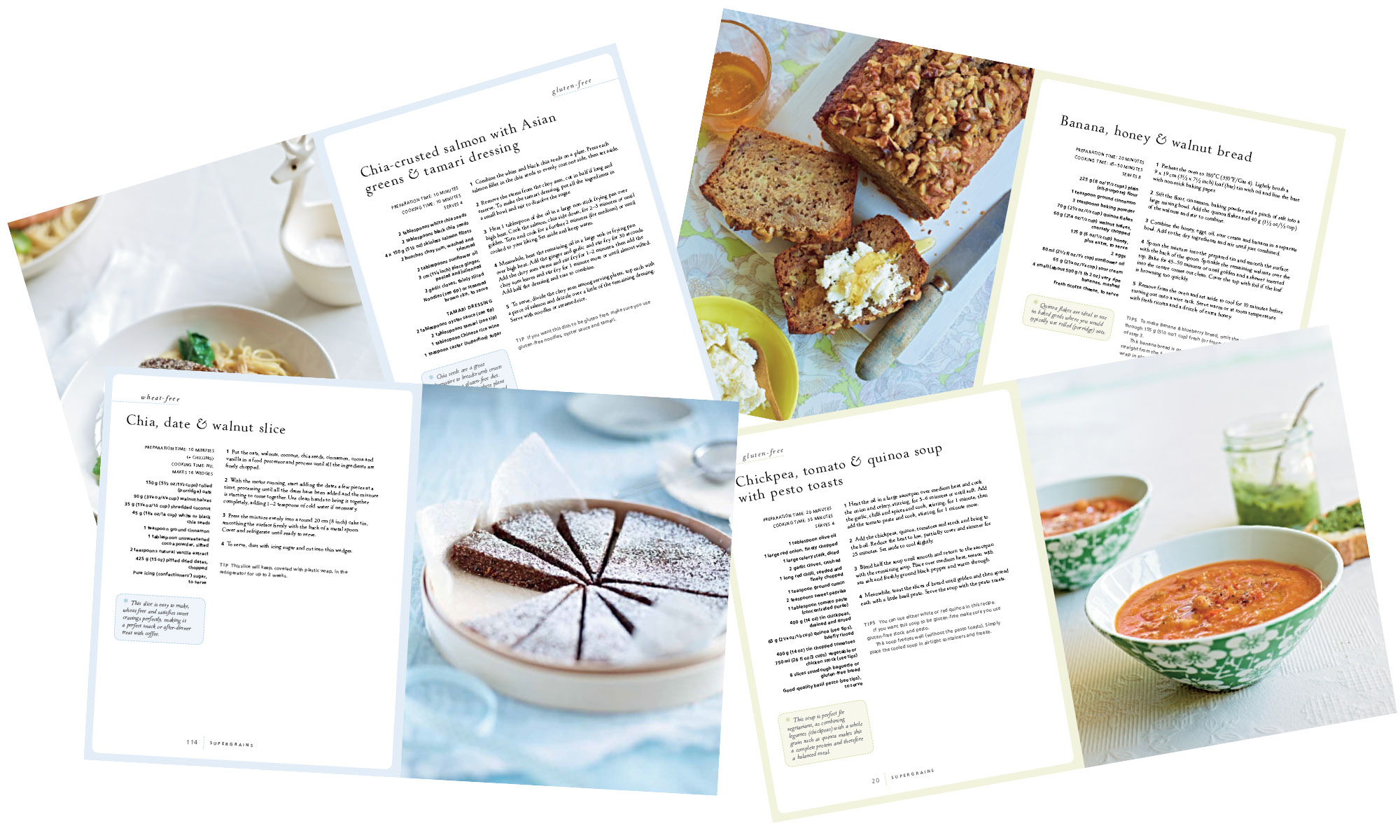 chrissy freer byron bay nutritionist food writer and health expert chrissy freer supergrains book