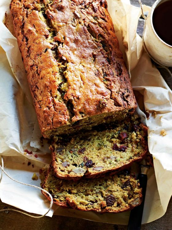 byron bay nutritionist chrissy freer zucchini loaf recipe