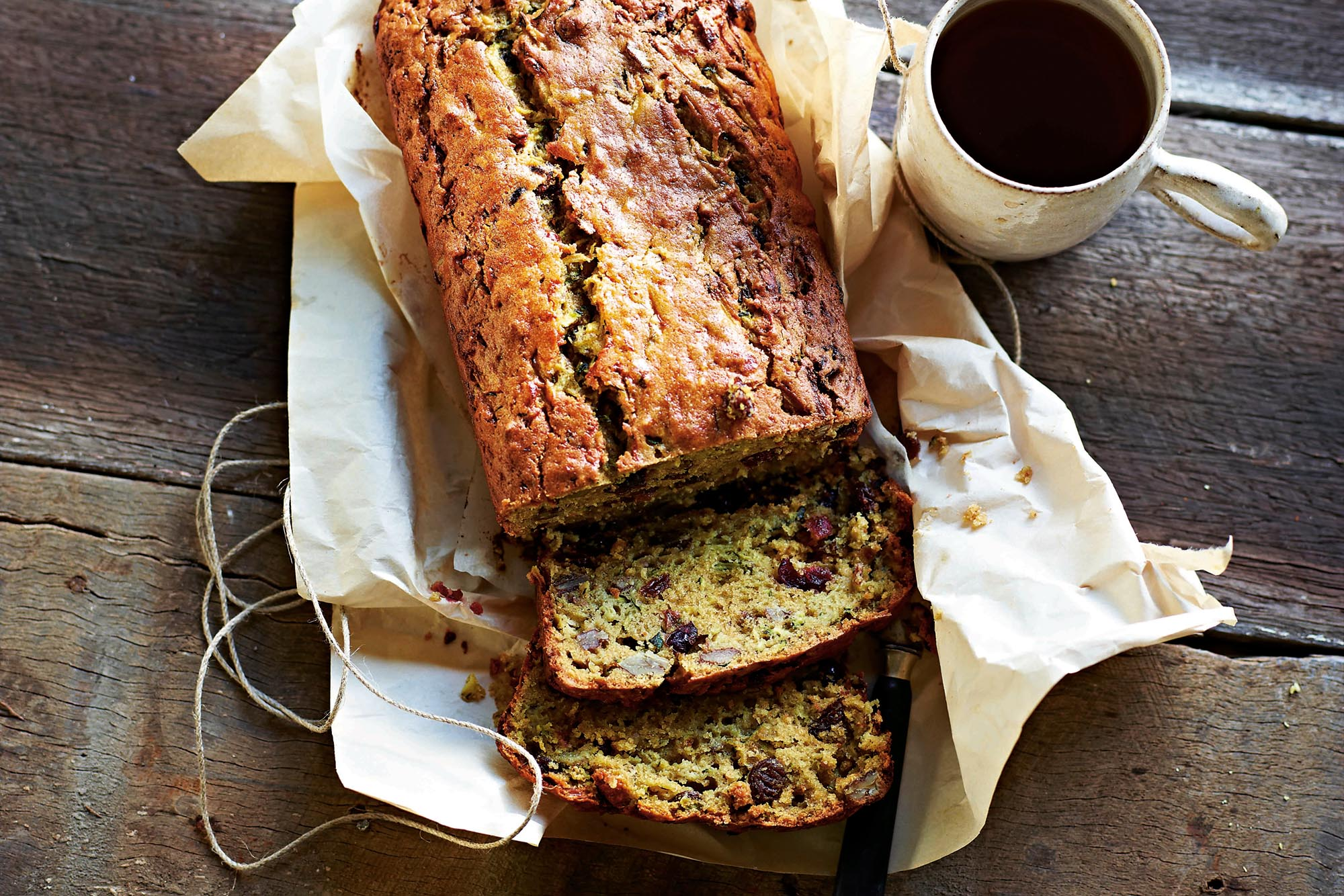 byron bay nutritionist chrissy freer zucchini loaf recipe