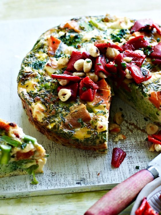 chrissy freer byron bay nutritionist goats cheese fritata
