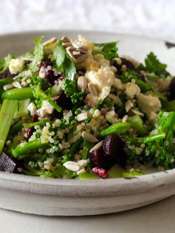 chrissy freer byron bay nutritionist quinoa salad